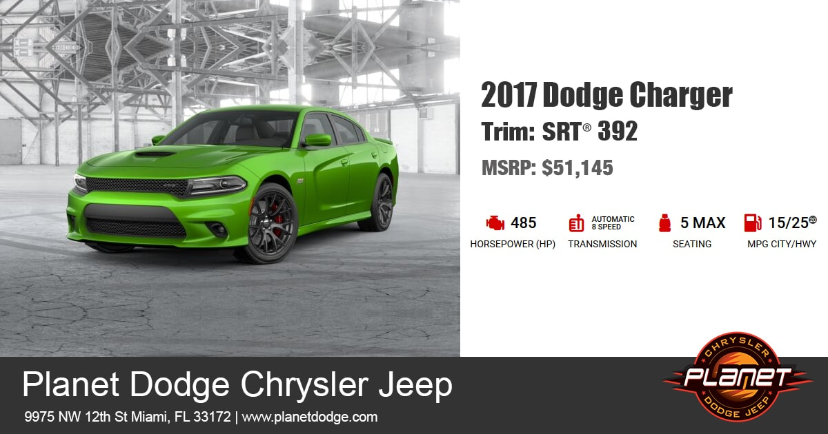 Dodge 2017 Charger SRT 392