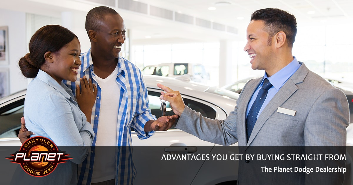 Advantages to Buying from Planet Dodge