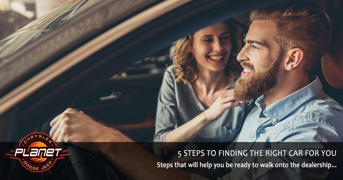 Steps to Finding Right Car for You