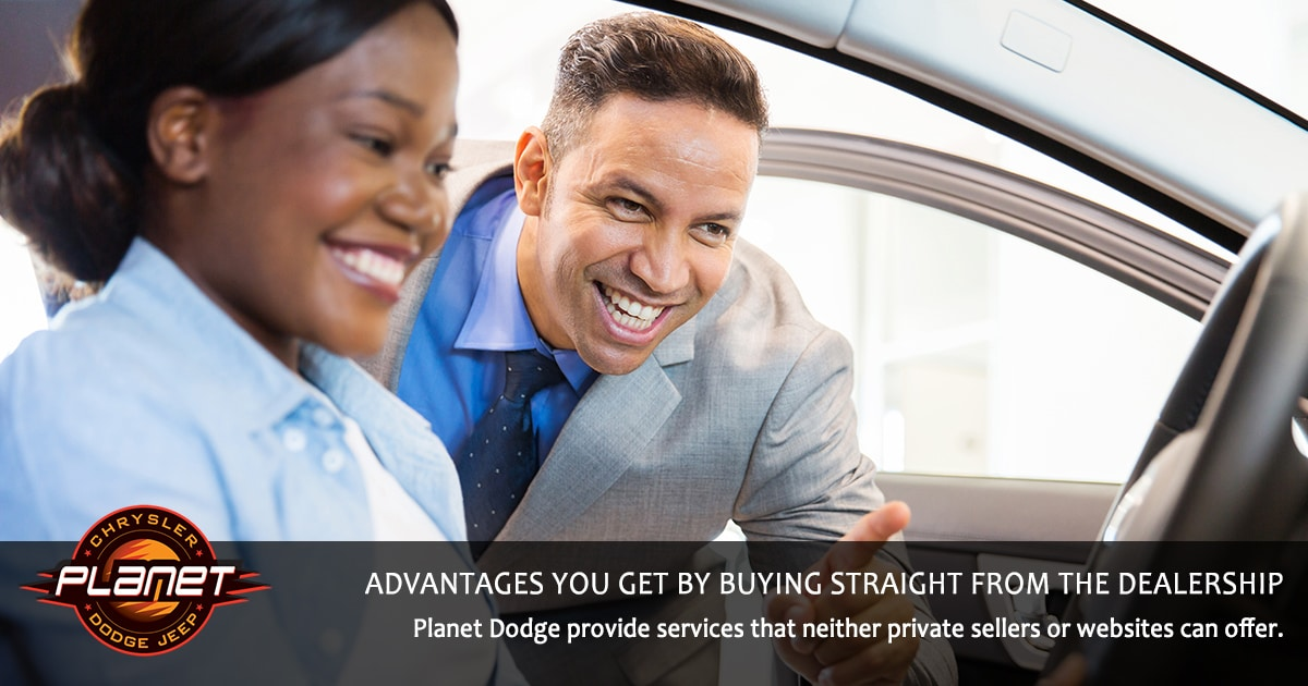 Advantages to Buying from Planet Dodge - Dealership