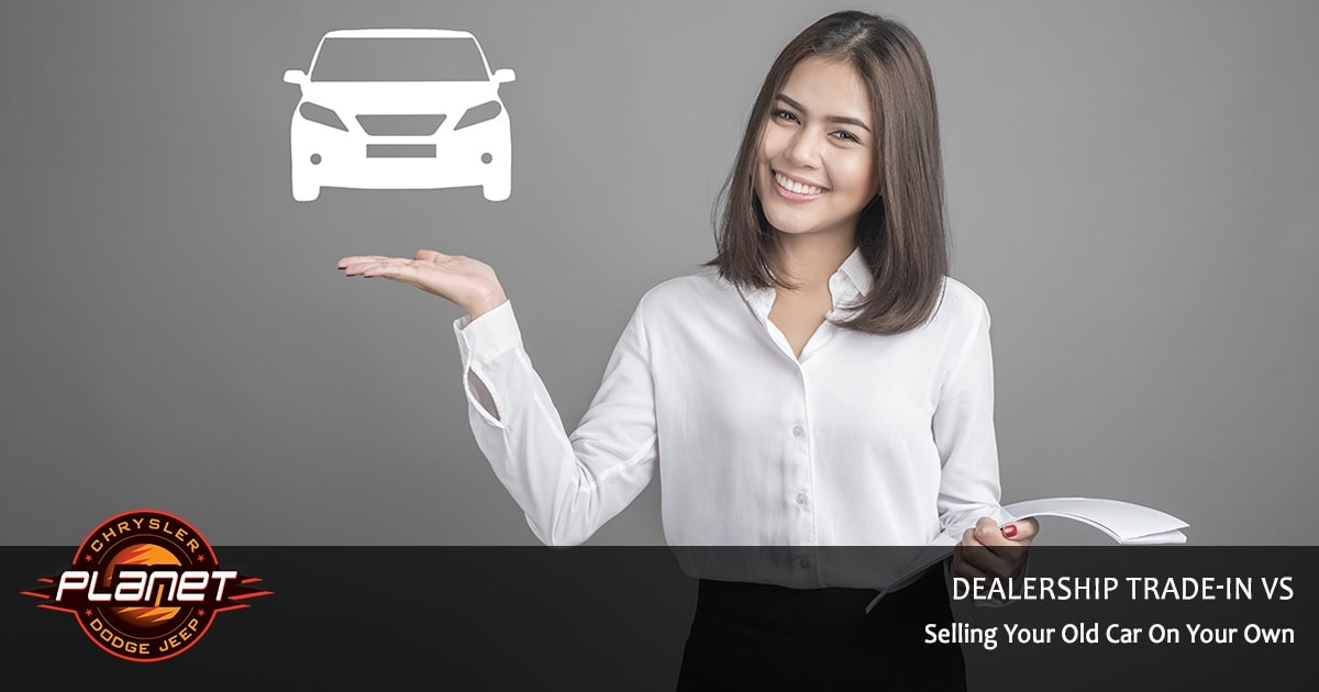 Dealership Trade-in vs Selling Car On Own