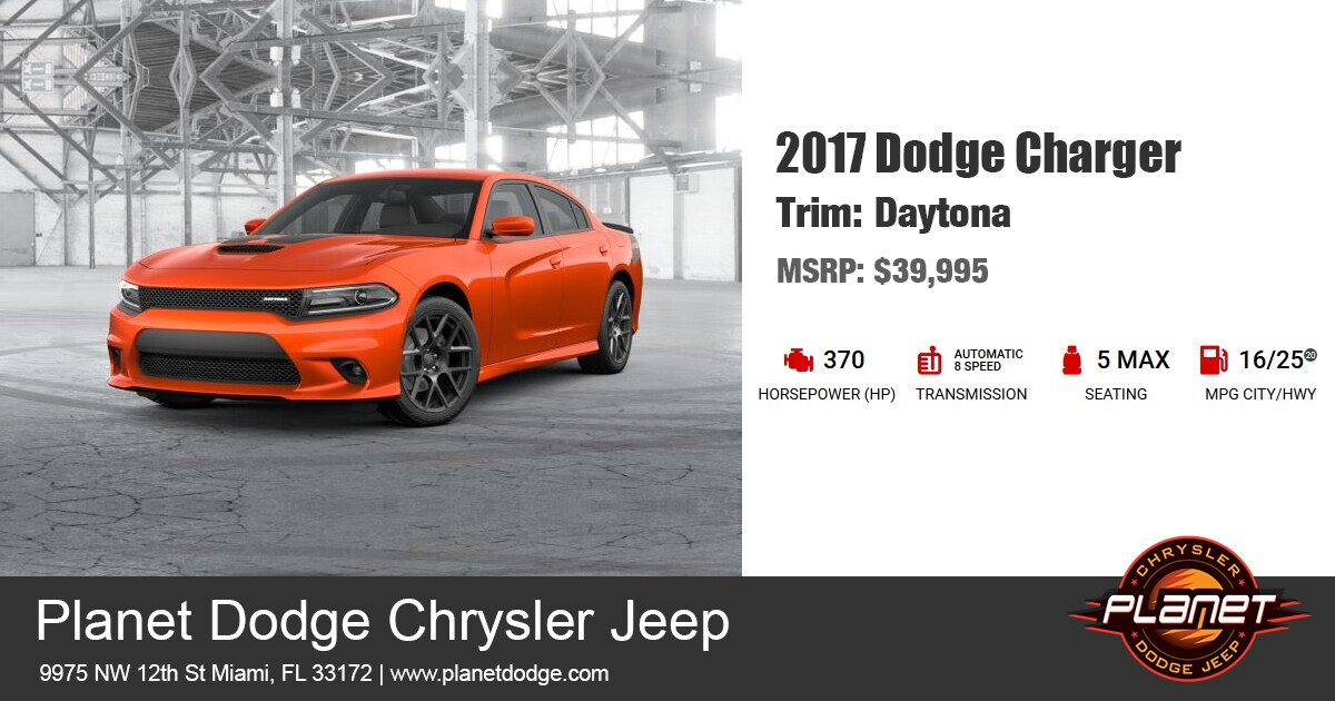 Dodge 2017 Charger Daytona