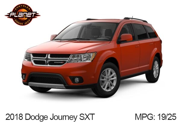 Dodge Journey Mpg >> What S The 2018 Dodge Journey S Gas Mileage Planet Dodge Miami 33172