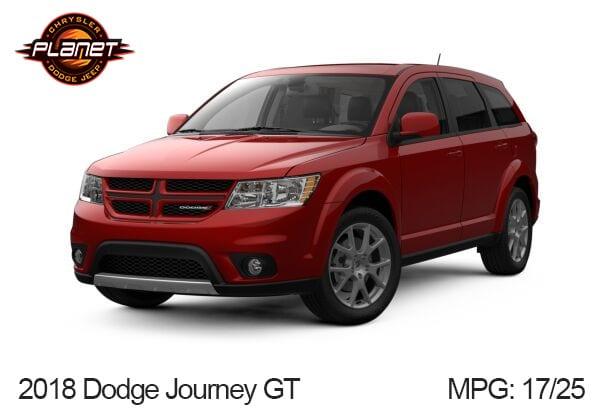 Dodge Journey GT Gas Mileage
