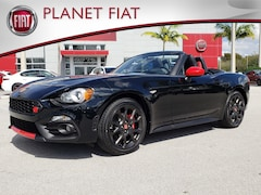 New 2019 FIAT 124 Spider ABARTH Convertible FK0142928 in Miami, FL