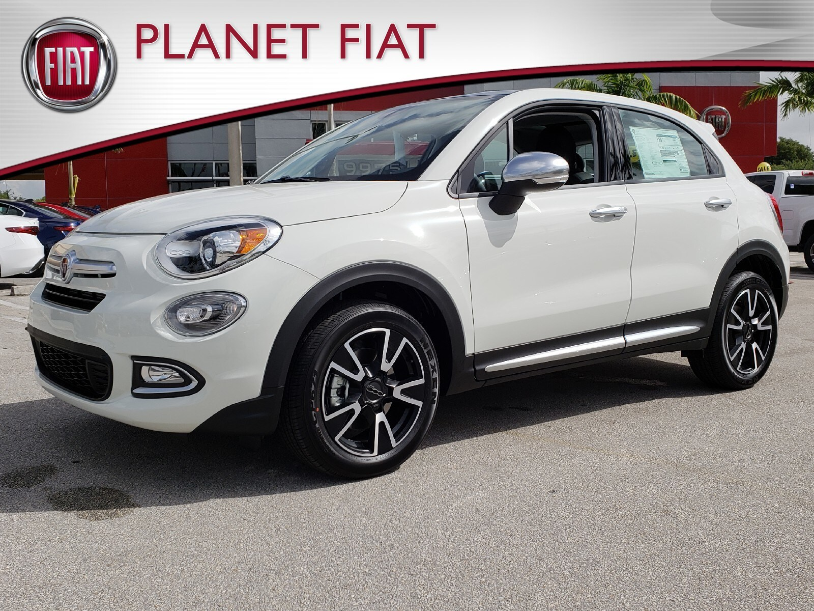 New 2018 FIAT 500X POP BLUE SKY EDITION FWD Sport Utility Miami, FL