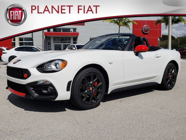 New 2019 FIAT 124 Spider ABARTH Convertible for sale in Miami, FL