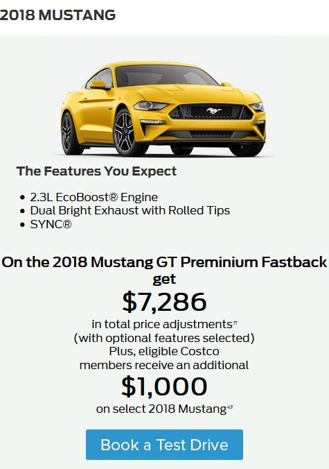 The Best Deals on the New Mustang