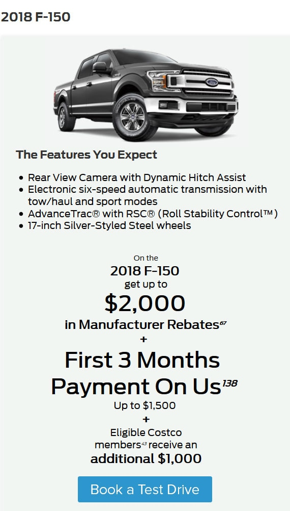 The Best Deals on the New F-150