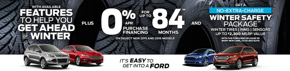 Its Easy to Get In To A Ford