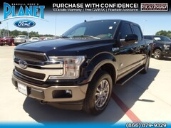 2018 Ford F-150 King Ranch 4WD Supercrew 5.5 Box Truck