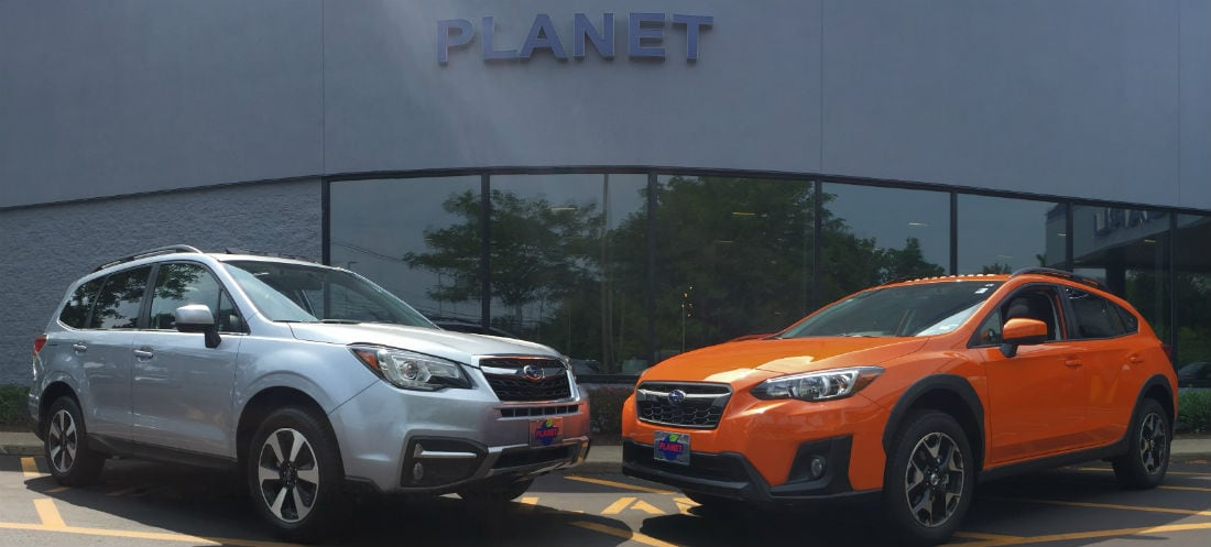boston subaru dealer planet subaru compares the subaru forester with the subaru xv crosstrek. Black Bedroom Furniture Sets. Home Design Ideas