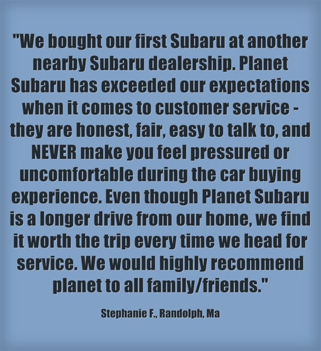Boston Subaru Dealer Quick Chart Tells You Which Subaru Is Right