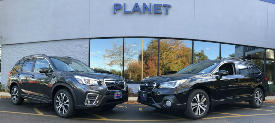 Most Recent Models 2019 Subaru Forester Vs 2019 Outback Planet