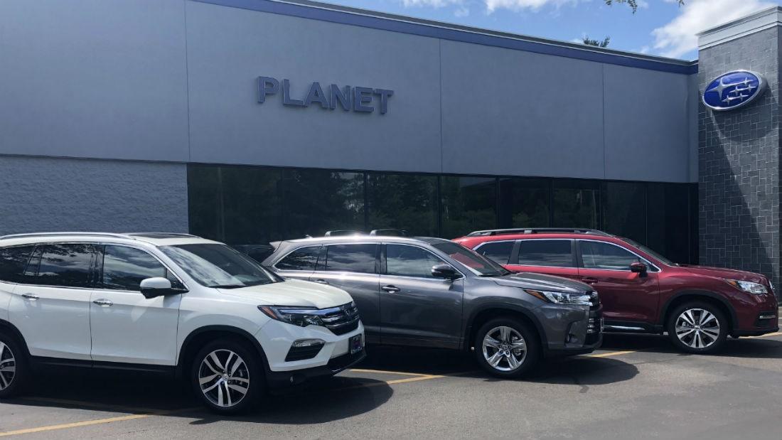 Pilot Vs Highlander >> Ascent Vs Highlander Vs Pilot Boston Subaru Dealer Planet Subaru
