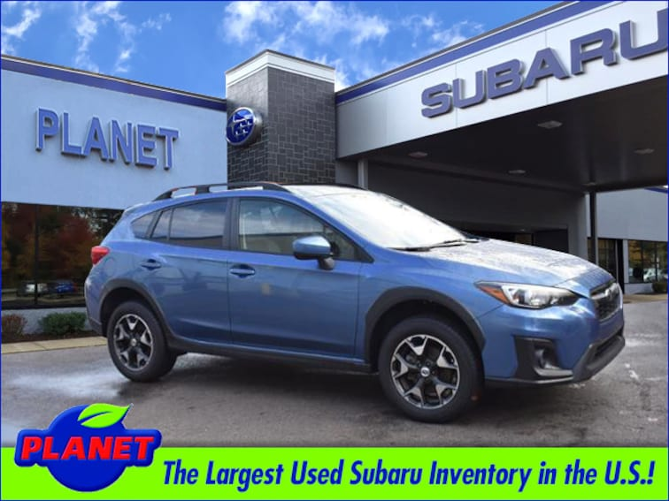 2018 Subaru Crosstrek 2.0 Premium w/ Eyesight & Blind Spot Detection Eye SUV
