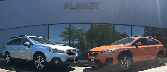 Outback vs Crosstrek   Boston Subaru Dealer   Planet Subaru