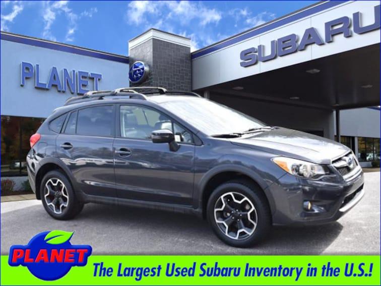 2015 Subaru Crosstrek 2.0i Limited w/Moonroof, Navigation & Eyesight Moo SUV