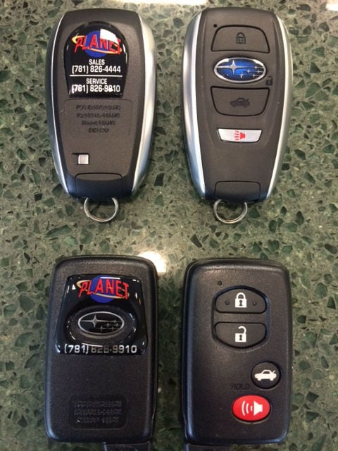 Keyless Access and Push Button Start | Planet Subaru