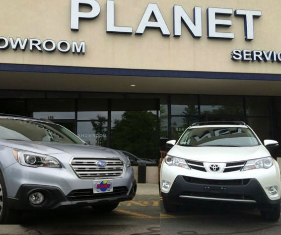 Boston Subaru Dealer | Subaru Outback vs Toyota RAV4 | Planet