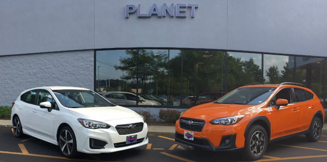 boston subaru dealer planet subaru compares the subaru impeza with the subaru xv crosstrek. Black Bedroom Furniture Sets. Home Design Ideas