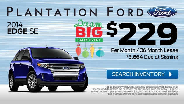 Ford Edge Finance Options