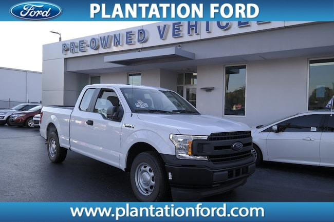 New 2018 Ford F-150 XL Truck SuperCab Styleside For Sale/Lease Plantation, FL