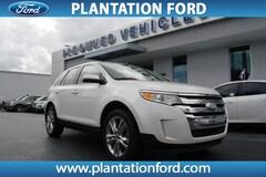 Used 2012 Ford Edge Limited SUV 2FMDK3KC6CBA95506 in Plantation, FL