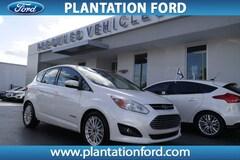 Used 2014 Ford C-Max Hybrid SEL Hatchback 1FADP5BU7EL521819 in Plantation, FL