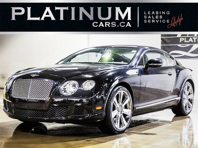2012 Bentley Continental W12, NAVI, CAM, HEATED COOLED LEATHER Coupe