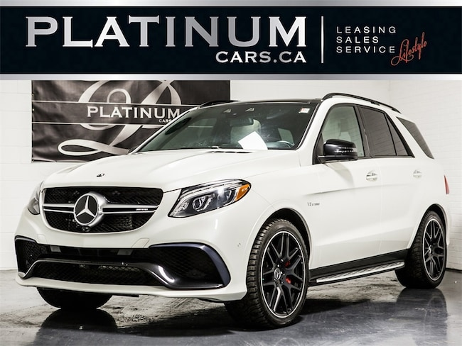 2016 Mercedes-Benz GLE-Class GLE63 S-MODEL AMG, NAVI, 360 CAM, CARBON TRIM SUV