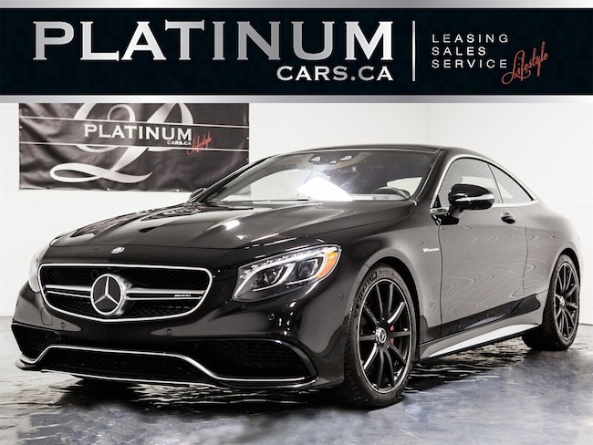 2015 Mercedes-Benz S-Class S63 AMG 4MATIC, NAVI, 360 CAM, HEADS UP, DTR Coupe
