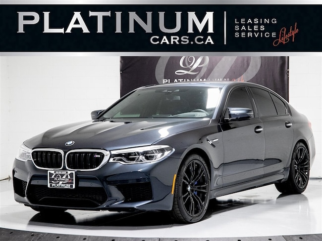 2018 BMW M5 4WD, NAVI, CAMERA 360, CARBON, APPLE CARPLAY, BT Sedan