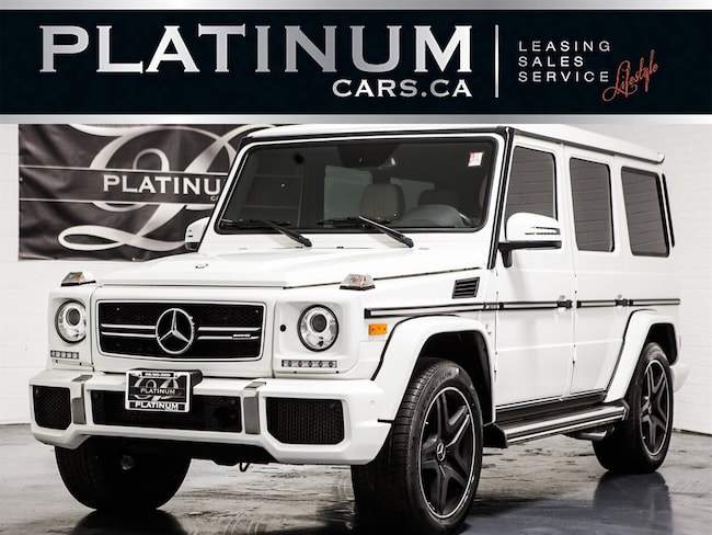 2015 Mercedes-Benz G-Class G63 AMG, NAVI, CAM, HEATED COOLED LTHR, ALCANTARA SUV