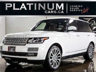 2015 Land Rover Range Rover AUTOBIOGRAPHY, SUPERCHARGED, NAVI, PANO SUV