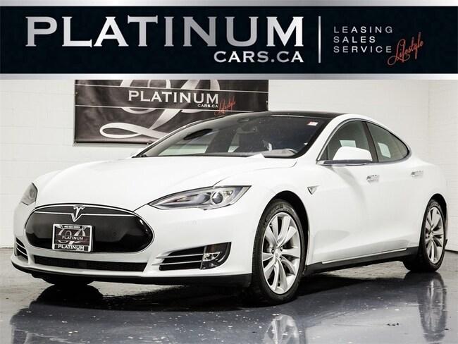 2015 Tesla Model S 85D, AWD, AUTOPILOT, NAVI, PANO ROOF, CAM Sedan