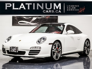 2012 Porsche 911 Targa 4S, SPORT CHRONO, NAVI, SUNROOF, RED LEATHER Coupe