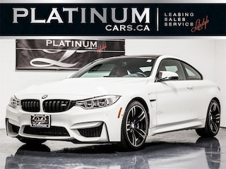 2016 BMW M4 NAVI, EXEC PKG, HEADS UP DISP, 360 CAM, MERINO Coupe