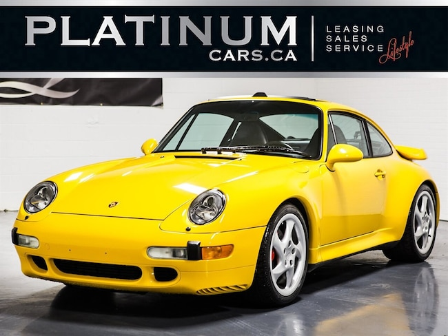 1997 Porsche 911 TURBO 993, RARE LOW KMS, 6-SPEED, LEATHER Coupe