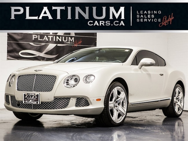 2013 Bentley Continental GT, 567HP AWD, W12, NAVI, CAMERA Coupe