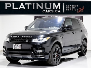 2016 Land Rover Range Rover Sport SUPERCHARGED V8, AUTOBIOGRAPHY, NAVI, RED LEATHER SUV