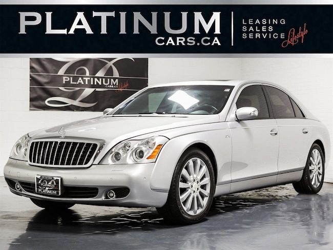 2006 Maybach 57 S LUXURY, NAVIGATION, FRIDGE, CLEAN CARPROOF Sedan