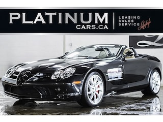 2008 Mercedes-Benz SLR MCLAREN ROADSTER, GULLWING, RARE 200MPH Convertible