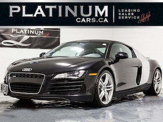 2008 Audi R8 4.2 QUATTRO, R-TRONIC, HEATED SEATS Coupe