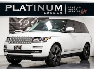 2015 Land Rover Range Rover SUPERCHARGED, NAVI, PANO, CAM, HEATED F/R SEATS SUV
