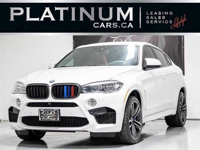 2017 BMW X6M XDRIVE, NAVI, APPLE CARPLAY, HUD, PANO, H/K AUDIO SUV