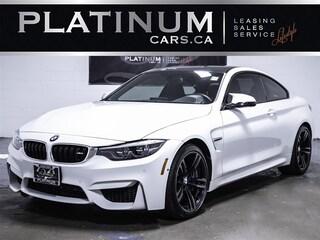 2018 BMW M4 EXEC PKG, NAVI, HEADS UP, PREMIUM, CARBON ROOF Coupe