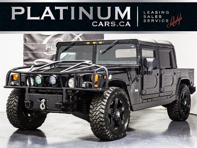 2004 Hummer H1 ALPHA LEATHER INTERIOR, OPEN TOP, DVD ENTERTAIN SUV