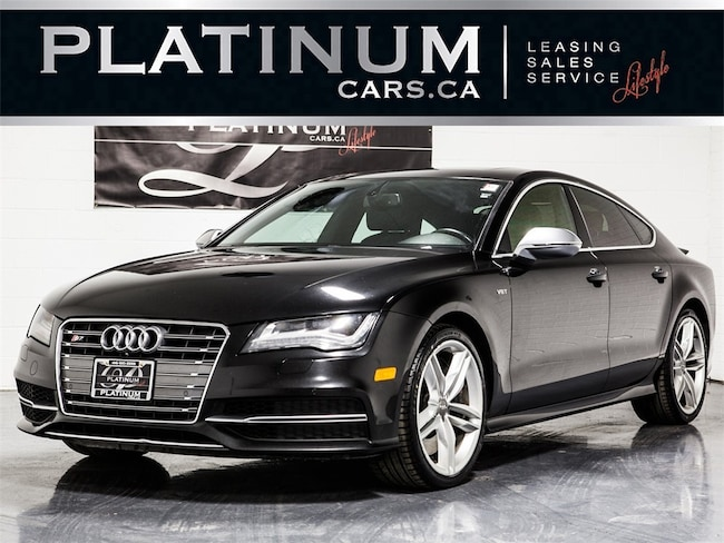 2013 Audi S7 4.0T QUATTRO, NAVI, COOLED SEATS, CAM, ROOF Sedan