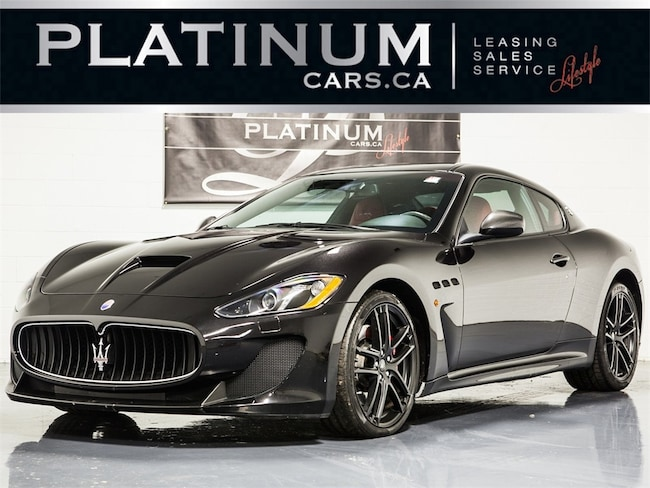 2015 Maserati GranTurismo MC STRADALE, SPORTLINE, CARBON FIBER, RED LTHR Coupe